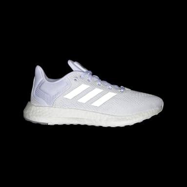 Women Running White Pureboost 21 Shoes