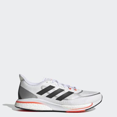 Running White Supernova+ Shoes