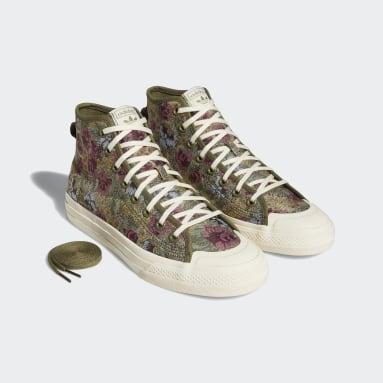Originals Green Nizza Hi RF Shoes