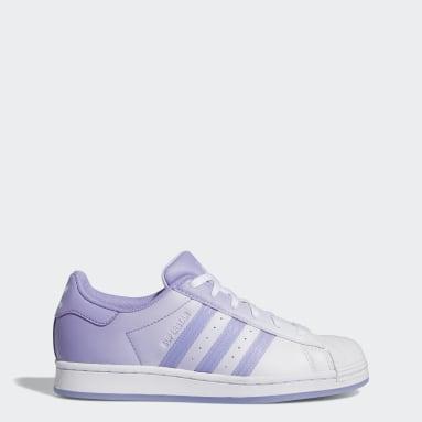 Γυναίκες Originals Μωβ Superstar Shoes