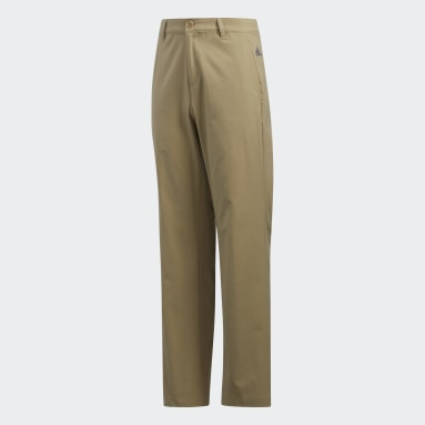 Youth Golf Red Solid Golf Pants