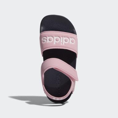 Děti Sportswear růžová Sandály Adilette