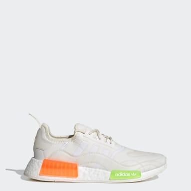 ผู้ชาย Originals สีขาว รองเท้า NMD_R1