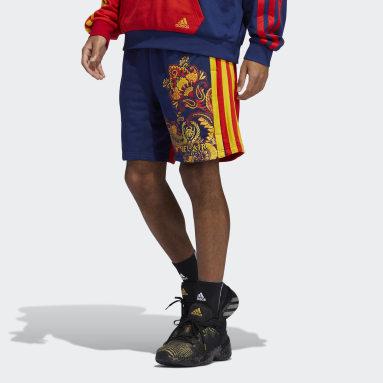 Short D.O.N. x BAA Bleu Hommes Basketball