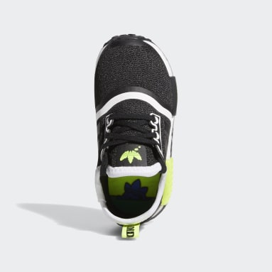 Infant & Toddlers 0-4 Years Originals Black NMD_R1 Shoes