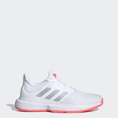 Women Tennis White GameCourt Shoes