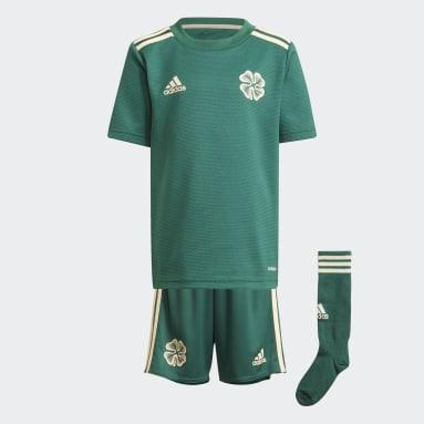 Kids Football Green Celtic FC 21/22 Away Mini Kit