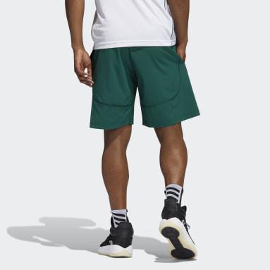 Men's Basketball Green Hurricanes NCAA Swingman Shorts