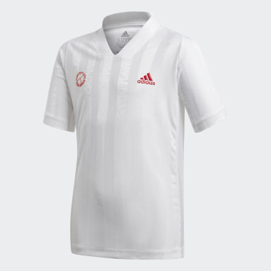 Boys Tennis Hvid Boys Freelift Tennis T-shirt