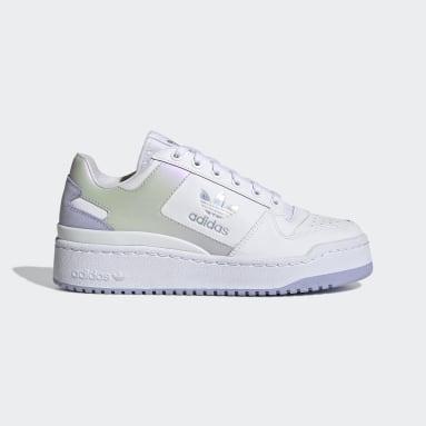 Women Originals White Forum Bold Shoes