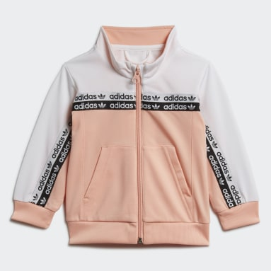 Girls Originals Pink Track Suit
