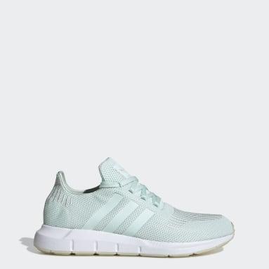 Women Originals Green Swift Run Shoes