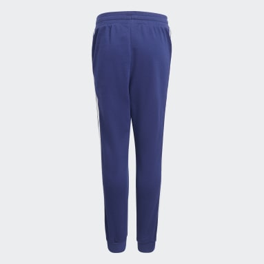 Youth 8-16 Years Originals Blue 3-Stripes Joggers