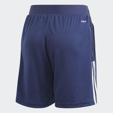 Børn Fodbold Blå Tiro 21 Training shorts