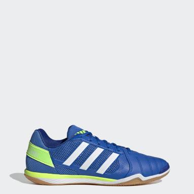 Men Football Blue Top Sala Boots