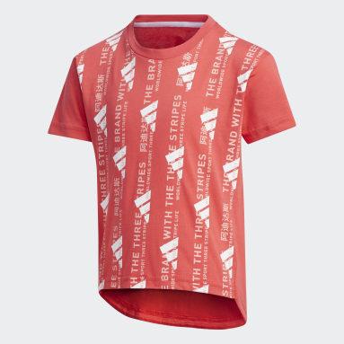 Girls Sportswear Pink T-shirt