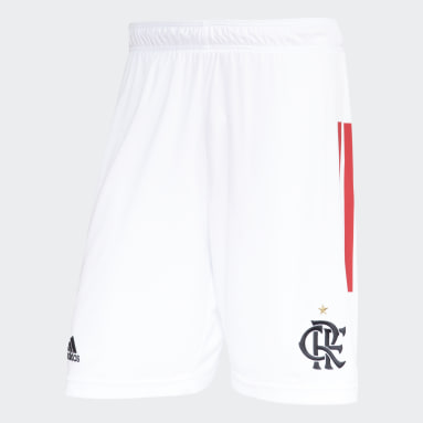 Shorts CR Flamengo 2 Branco Homem Basquete