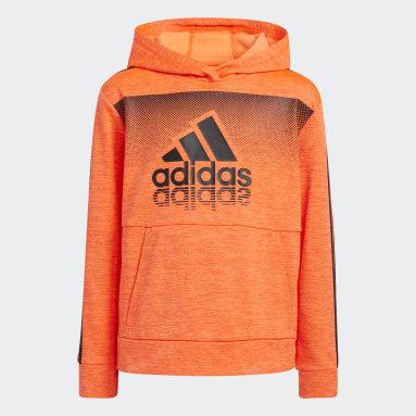 Youth Training Orange Fade Horizon Hoodie