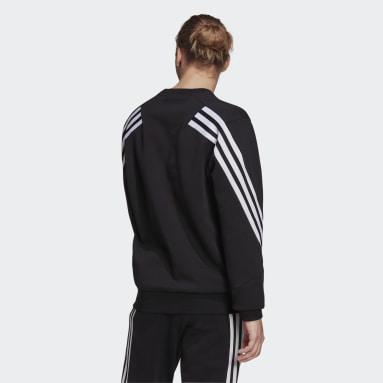 Sweat-shirt adidas Sportswear Future Icons 3-Stripes Noir Hommes Sportswear