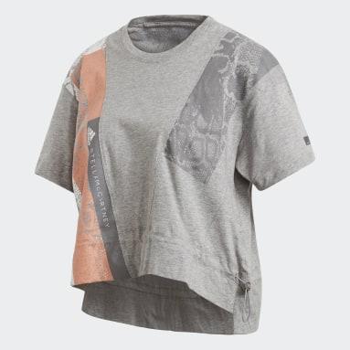 Graphic T-skjorte Grå