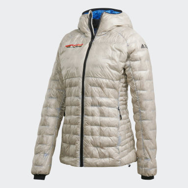 Women TERREX White Terrex DSV Climaheat Down Jacket