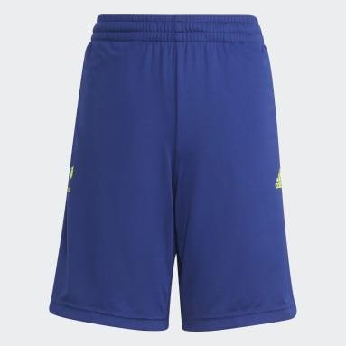 синий Шорты AEROREADY Messi Football-Inspired