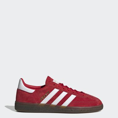 Dam Originals Röd Handball Spezial Shoes