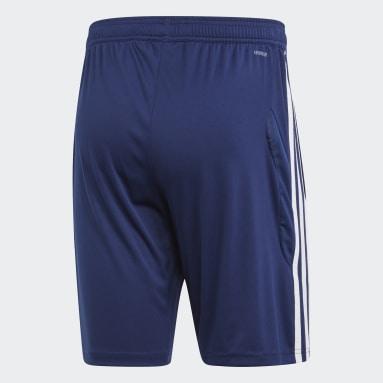Pantalón corto entrenamiento Tiro 19 Azul Hombre Gimnasio Y Entrenamiento