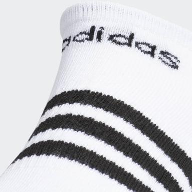 Men's Training Multicolor 3-Stripes No-Show Socks 3 Pairs