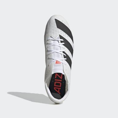 Männer Leichtathletik Adizero Finesse Tokyo Spike-Schuh Weiß