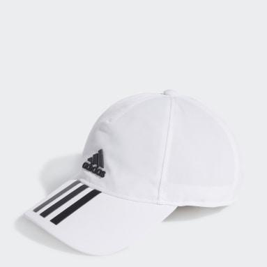 Training Beyaz AEROREADY 3-Stripes Beyzbol Şapkası