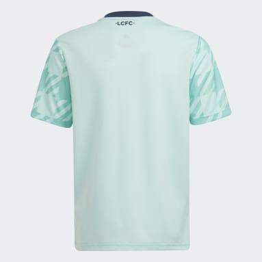 Camiseta segunda equipación Leicester City 21/22 Verde Niño Fútbol