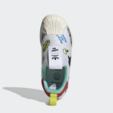 Kids Originals White Superstar 360 Primeblue Shoes