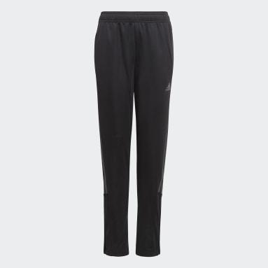 Youth Soccer Black Tiro Track Pants