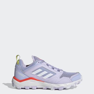 Women's TERREX Purple Terrex Agravic TR Trail Running Shoes