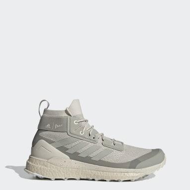 Men's TERREX Beige Terrex Free Hiker Parley Hiking Shoes