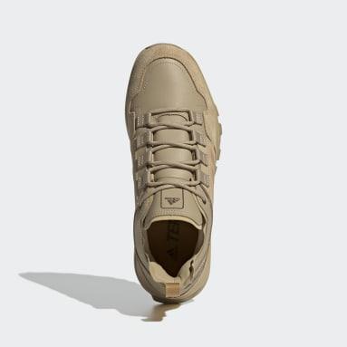 Chaussure de randonnée Terrex Urban Low Leather Beige Hommes TERREX