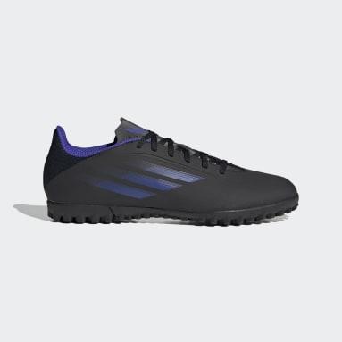 Calzado de Fútbol X Speedflow.4 Pasto Sintético Negro Fútbol