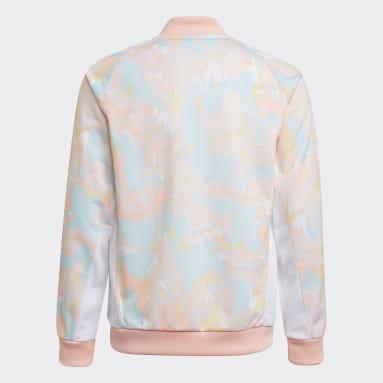 розовый Олимпийка Marble Print SST