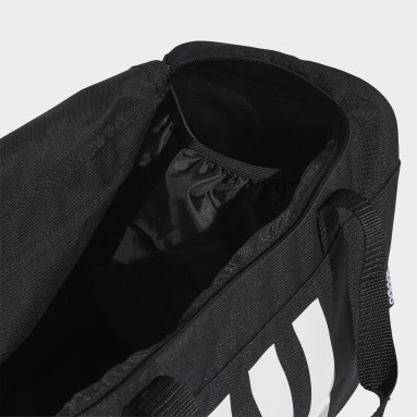Bolsa Duffel 3-Stripes Pequena (UNISSEX) Preto Training