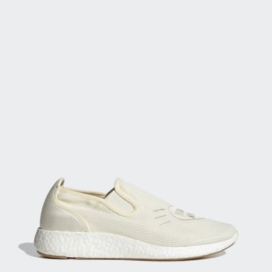 Men Originals White Human Made Pure Slip-On Shoes