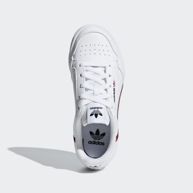 Kids 4-8 Years Originals White Continental 80 Shoes