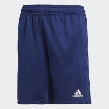 Shorts CON18 TR (UNISEX) Azul Niño Fútbol