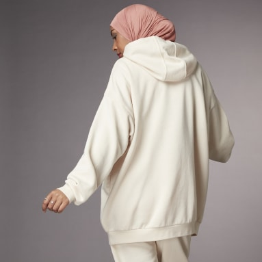 Women Sportswear White Hyperglam Oversize Hoodie