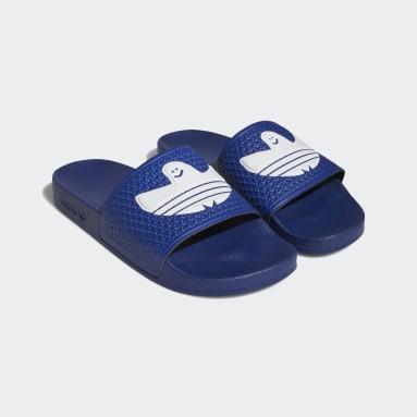 Ciabatte Shmoofoil Blu Originals