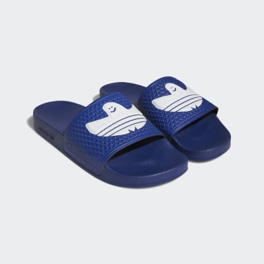 Originals Shmoofoil Badeschlappen Blau