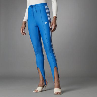 Blue Version Slim Beckenbauer Track Pants Niebieski