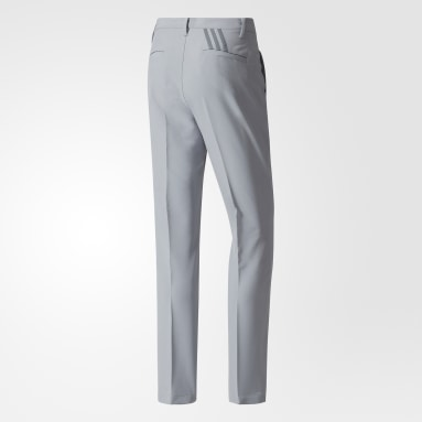 Men Golf Grey Ultimate 365 3-Stripes Tapered Pants