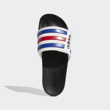 ผู้ชาย Swim สีขาว รองเท้าแตะ Adilette Comfort Adjustable