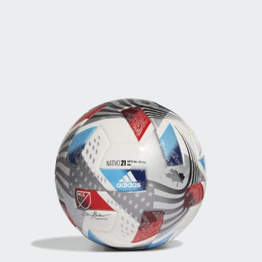 Men's Soccer White MLS Mini Ball